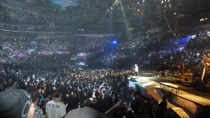 concert review linkin park live at madison square garden