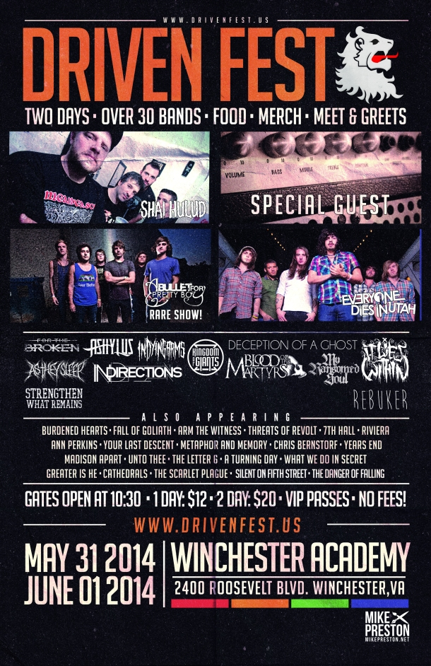 Driven Fest 2014 Official Poster